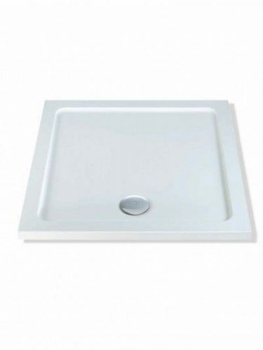 MX DUCASTONE LOW PROFILE 760X760 SQUARE SHOWER TRAY INCLUDING WASTE